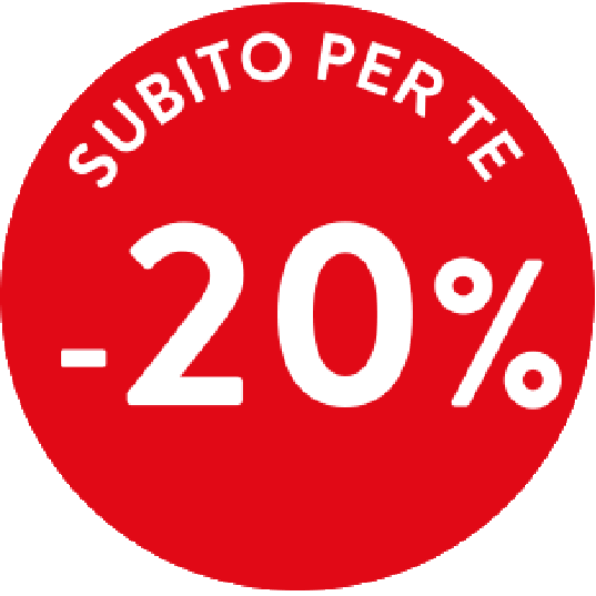 Solo per te -20%